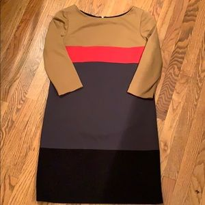 Tahari colorblock dress 8